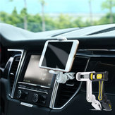 REMAX RM-C24 360 Degree Rotation Car Air Vent Mount Phone Holder for Phone 3-6 inches