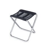 Naturehike 20JJ006 Folding Camping Stool Lightweight Fishing Chair Beach Seat with Storage Bag Max Load 100kg