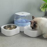 1.8L पालतू कटोरे खाद्य स्वचालित फीडर फाउंटेन पानी पीने के लिए बिल्ली कुत्ता पालतू दूध पिलाने की कंट