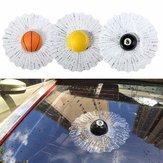 3D Ball Hits Auto Aufkleber Unterbrochenes Fenster Baseball Aufkleber Abziehbilder Sprung
