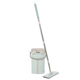 Mop Bucket Rinse Wash Squeeze Flat Cleaner Household Washing Cleaning Set
