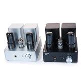 APPJ PA1502A 6N4 6P6P Amplificador de fone de ouvido com tubo de vácuo com jack de 6,35 mm