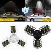 E27 60W LED Garage Lights Deformable Garage Ceiling Light Fixtures Lamp