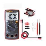 ANENG AN8000 الأحمر رقمي المتعدد الفولتميتر جهاز قياس المقاومة فولت أمبير ac تيار منتظم أوم اختبار متر + اختبار الرصاص مجموعة