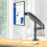 Компьютер LCD Стенд Настольный Давление воздуха вверх и вниз Вращение Алюминиевого Сплава Рама 17-27 Дюймов