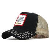 قبعة بيسبول مطرزة من دجاج