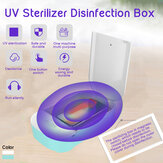 UV Sterilizer Disinfection Box Mobile Phone Jewelry Sterilizer Dual Timing Mode