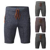 PantalonsdesportpourhommesShorts réglable Soft Pantalon décontracté respirant en vrac