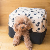 Warm Dog Bed Soft Fleece Pet Dog Puppy Cat Łóżka dla małych psów Plush Cozy Nest Mat Winter Pet Supplies