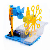 Small Hammer STEAM DIY Bubble Blister Robot Machine Educational Kit