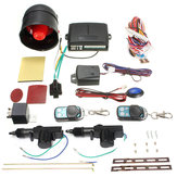 Universal Vehicle Central Locking Remote Kit Alarm samochodowy Immobilizer Shock Sensor
