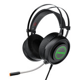 BlitzWolf® AirAux AA-GB1 Gaming-Kopfhörer USB 7.1 Surround Sound RGB LED Licht Stereo Flexibles Computer-Gaming-Headset mit Mikrofon