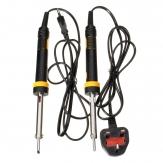 30w 220v watt di saldatura elettrica del ferro saldatura EU / UK spina testa di cavallo