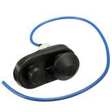Macchina nera porta interna di cortesia pulsante interruttore della lampada leggera spinta universale