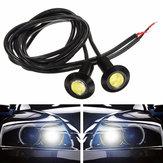 23mm 3w автомобиль крючке LED дневные ходовые огни тумана свет DC12V черный корпус