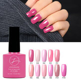 11 Cores Princesa Rosa Unhas Gel Polonês Soak-off UV Gel