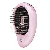Escova de cabelo iônica elétrica portátil