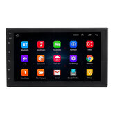 7200C 7 pouces 2 Din pour Android 8.1 Car MP5 Player 4 Core 1 + 16GB Radio stéréo GPS WIFI Support Carema