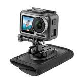 TELESIN Backpack Strap Bracket Mount for GoPro Hero 8 7 6 5 4 3 for SJCAM EKEN DJI Osmo Action Camera Sports Accessories