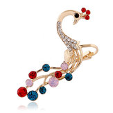 Colorful Rhinestones Ear Cuff Cartilage Earring for Women