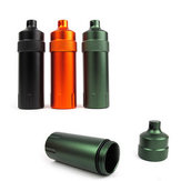 Mini Waterproof Tank Seal Bottle Case Container Houder EDC Box