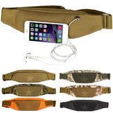 Unisex Outdooors Wasit Bag Nylon Waist Running Phone Bag Anti Theft Sport Waistband