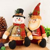 Décorations de Noël Renne Artificielle Poupée Flanelle Cadeaux de Noël Jouets Décorations de Noël pour la maison