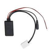 Adaptador de cable de audio para automóvil Cable AUX con micro para Peugeot