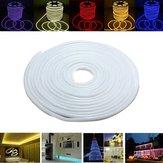 15m 220v impermeabile 2835 LED striscia corda al neon flessibile luce natale all'aperto