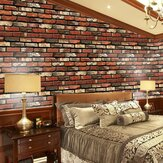 Simulación de pegatinas de pared creativa Impermeable Brick 3D Effect PVC Removable Background Stickers