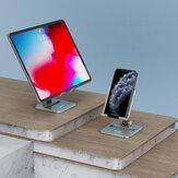 KAYA Taşınabilir Dönebilen Metal Masaüstü Tabletler Cep Telefonları 4-44 inç Cihazlar için Tutucu Standı POCO F2 Pro Xiaomi Redmi 9 iPad Hava için