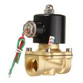 2W-200-20 AC220V 3 / 4inch Brass Elektrische Solenoid Valve Water Luchtbrandstoffen