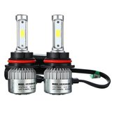 9007 H13 72W 8000LM 6500K auto COB LED Headlight corredo Hi / Lo Bulbi