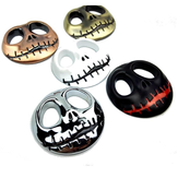 Metal Pumpkin Caveira Sticker Caveira Totem Car Decoration Sticker
