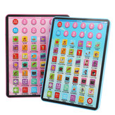 Kids Educational Tablet Pad Computer para Kid Kids Learning English Educational Teaching Toy Gift