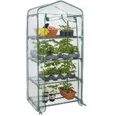 4 Tier Kas Cover Mini Outdoor Indoor Tuin Plant Growhouse Cover Zonder Frame