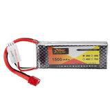 ZOP Power 7.4V 1500mAh 2S 25C Batterie Lipo Fiche T