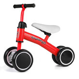 4-Wheels Baby Balance Bike Kids Toddler Walker Children Push Bicycle Tricycle For 1-3 Years Old Boys Girls