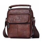 Men Genuine Leather Messenger Bag Shoulder Bags