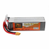 ZOP POWER 22,2 V 3500 mAh 80C 6 S Lipo Batterie Mit XT60 Stecker