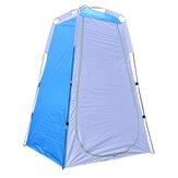 Tente instantanée portable Camping douche toilette extérieur imperméable robe de plage vestiaire avec fenêtre arrière et poche intérieure