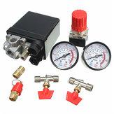 LuchtcompressorDrukventiel180PSImetersRegulatorpompregelaar