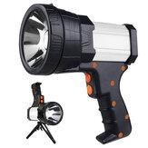 Super jasny przenośny reflektor ze statywem i baterią 9600 mAh Mocny ręczny reflektor LED