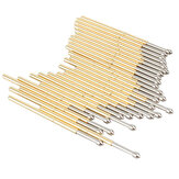 P100-E2 100Pcs Dia 1.36mm Longueur 33.3mm 180g Ressort Test Probe Pogo Pin Tool
