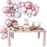 169 Pcs Balloons + Balloon Arch Kit Set Macaron Baloons Wedding Garland Decor