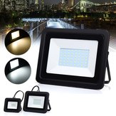 10W 30W 50W Waterproof Outdooors LED Ultra Thin Flood Light Landscape Garden Yard Lamp AC220-240V
