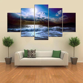 5 Cascade The Blue Sky River Wall Malerei Bild Home Decoration Ohne Rahmen Inklusive Installa