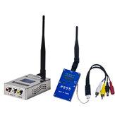 1.3G 2 W 2000 mW PAL / NTSC Bezprzewodowy AV VTX Nadajnik FPV Combo na samolot RC Drone Dalekiego zasięgu
