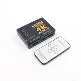 4K UHD HDMI 5 Port Switch Switcher Selector Splitter Hub met ondersteuning op afstand HDTV HDMI 1.4
