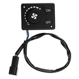 12V/24V Parking Heater Controller Switch Knob For Air Diesel Heater